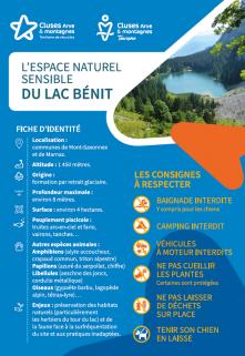 Environnement naturel sensible - Lac Bénit