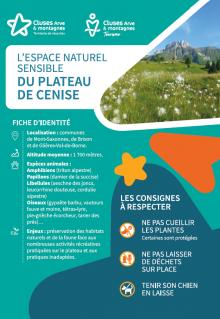 Environnement naturel sensible - Cenise