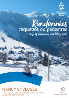 Randonnées raquettes ou pédestres - Nancy-sur-Cluses