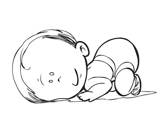 Bébé câlin